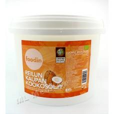 Foodin kylmäpuristettu luomu kookosöljy 3l