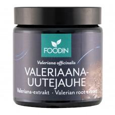 Foodin Valeriaana uutejauhe 60g
