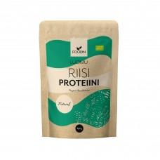 Foodin riisiproteiini maustamaton luomu 650g