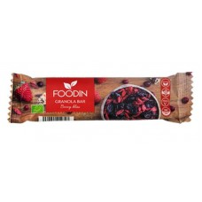 Foodin Granola patukka Berry Bliss luomu 40g