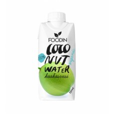 Foodin kookosvesi luomu 330ml