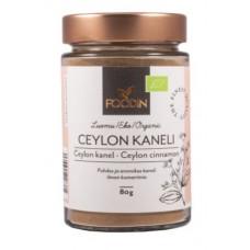 Foodin - Ceylonkaneli 80g, luomu