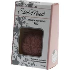 Skin mood konjac ruusu kasvosieni rasvoittuvalle iholle