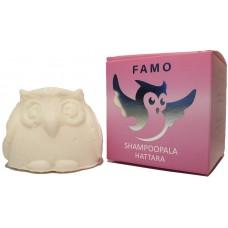 Famo shampoopala hattara tuoksuton, vegaaninen 80g