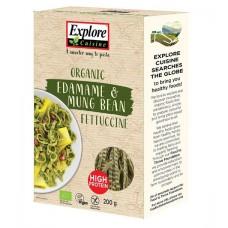 Explore Cuisine Edamame-Mungpapu fettucine 200g luomu