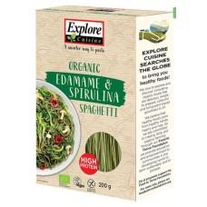 Explore Cuisine Edamame & Spirulina spagetti 200g luomu