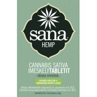 Sana hemp cannabis sativa imeskelytabletit 40 tabl.