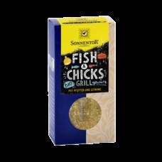 Sonnentor Fish&Chicks BBQ-mausteseos 55g kalalle ja ja kanalle