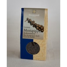Sonnentor mustapippuri luomu 35g